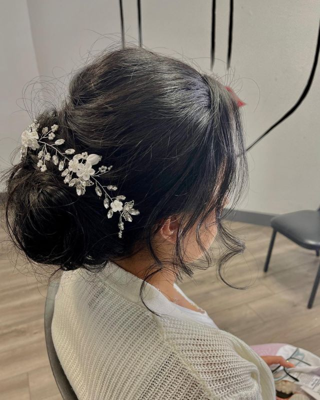 The most perfect hairdo for a wedding doesn't exi…it sure does! ✨ @hairbydryer did an amazing job working with the bride to get the most perfect look! 🤍